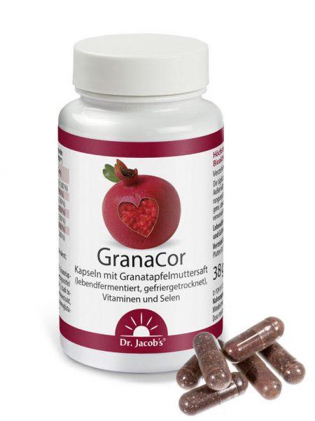 GranaCor kapsule ščitijo srčno žilni sistem