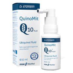QuinoMit Q10 fluid vsebuje 5 % ubikinol, aktivne oblike koencima Q10