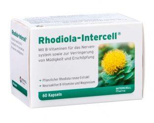 Rhodiola-Intercell vsebuje izvleček rožnega korena