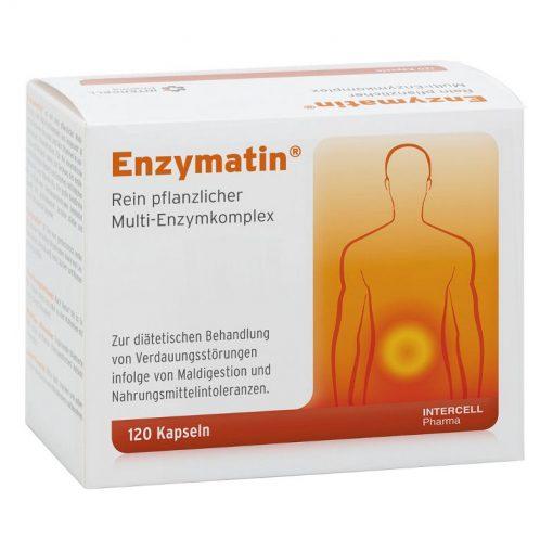 Enzymatin kapsule encimi